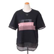 ステラマッカートニー アディダス adidas ロゴ半袖Tシャツ シングルジャージー ブラック