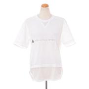 ステラマッカートニー アディダス adidas ロゴ半袖Tシャツ シングルジャージー コアホワイト