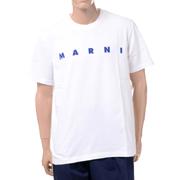 マルニ ブランドロゴTシャツ コットン ストーンホワイト