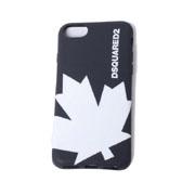 ディースクエアード カエデiPhone8用ケース iPhone7 6S/6対応 ブラックホワイト