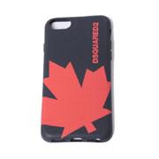 ディースクエアード カエデiPhone8用ケース iPhone7 6S/6対応 ブラックレッド
