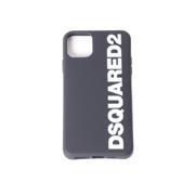 ディースクエアード iPhone 11 pro maxケース ブラック
