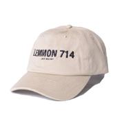ジェイクベルフォート レモン714 キャップ コットン ベージュ