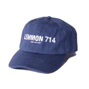 ジェイクベルフォート レモン714 キャップ コットン ネイビー