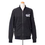 ジェイクベルフォート 刺繍入りフライトジャケット ma-1 ブラック