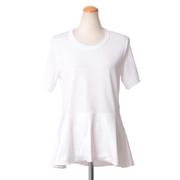 クロエ 半袖Tシャツ コットン ピュアホワイト
