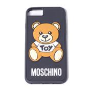 モスキーノ クマiPhone8用ケース ブラック