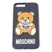 モスキーノ クマiPhone8Plus用ケース ブラック