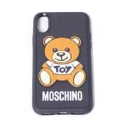 モスキーノ クマiPhone X用ケース ブラック