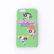モスキーノ ロゴiPhone6用ケース パワーパフガールズ グリーン