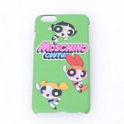 モスキーノ ロゴiPhone6 Plus用ケース パワーパフガールズ グリーン