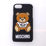 モスキーノ テディベアiPhone6/6S/7用ケース ジェンナリーノ ブラック