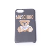 モスキーノ iPhone7用ケース 6/6s対応 ダンボールジェンナリーノ ブラック
