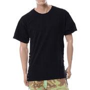 フェイスコネクション Laced Tee Shirt レースTシャツ ブラック