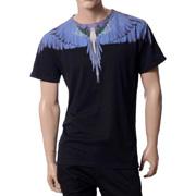 マルセロバーロン Tシャツ alas b purple ブラック