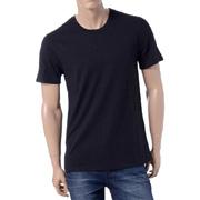 ブラックデニム バックプリントTシャツ ブラック