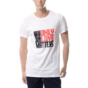 ポーツ プリントTシャツ コットン ホワイト