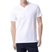 ニールバレット レイヤードVネックTシャツ コットン ホワイト