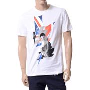 ニールバレット ハイブリットプリント[シド・ヴィシャス]Tシャツ コットン ホワイト