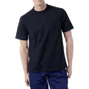 フェノメノン メッセージTシャツ FOOTSTEPS IN THE DARK コットン ブラック