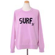 クイーンアンドベル SURF76セーター カシミア ピンク
