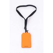 ディースクエアード iPhone6用ネックショルダーケース レザー オレンジ
