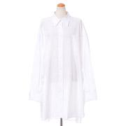 メゾン マルジェラ ビッグシャツ コットン ホワイト