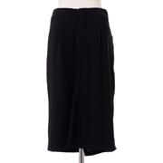 メゾン マルジェラ 変形スカート ストレッチジャージー ブラック