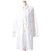 エムエムシックス メゾンマルジェラ 6ハンドシャツジャケット ポリエチレン ホワイト