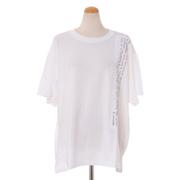 エムエムシックス メゾンマルジェラ アーカイブプリントTシャツ コットンジャージー ホワイト