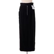 エムエムシックス メゾンマルジェラ インサイドアウトタイトスカート ジャージー ブラックストライプ