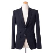 ディースクエアード スーツジャケット ストレッチヴァージンウール ブラック