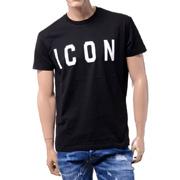 ディースクエアード ICONTシャツ コットン ブラック