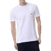 ラフシモンズ デニムポケットTシャツ コットン ホワイト