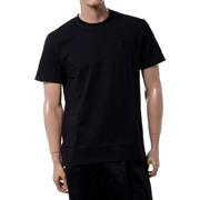 ラフシモンズ フレッドペリー FREDPERRY RSローレルディティールスリムフィットTシャツ コットン ブラック