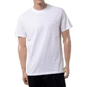 ラフシモンズ フレッドペリー FREDPERRY RSローレルピンディティールスリムフィットTシャツ コットン ホワイト