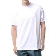 ラフシモンズ フレッドペリー(FRED PERRY) ドロップショルダーTシャツ コットン ホワイト