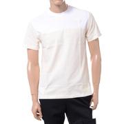 ラフシモンズ イニシャル刺繍Tシャツ コットン クリーム