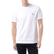 ラフシモンズ フレッドぺリー FRED PERRY Tシャツ コットン ホワイト