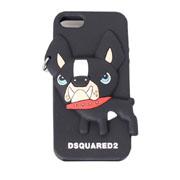 ディースクエアード チロ3D立体iphoneケース ブラック