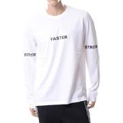 ブラックバレット ロングTシャツ ホワイトブラック