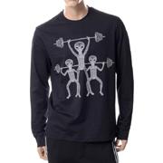 ブラックバレット ロングTシャツ ブラックホワイト