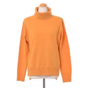 プラスプラス ウールカシミアハイネックセーター ヨコアンティオリジナル マンダリンオレンジ